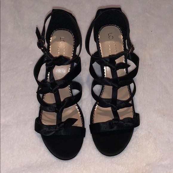LC Lauren Conrad Shoes - Lauren Conrad BowTie Wedges